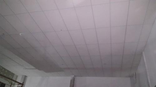 cielorraso desmontable durlock colocado c/ material m2