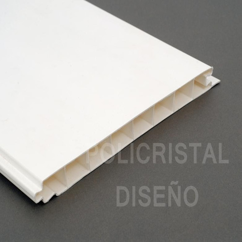 cielorraso machimbre placas pvc 200x14.5 mm blanco