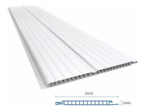 cielorraso pvc lambriz tabla de 6 metros