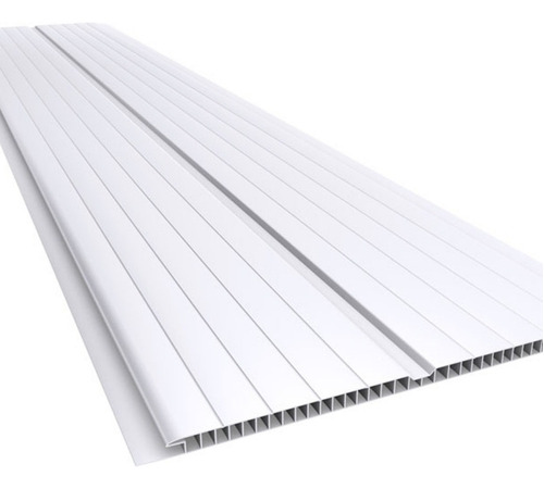 cielorraso pvc oferta - tabla 4mt x 20cm blanco frisado