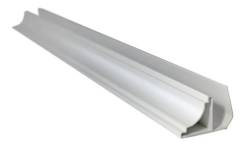 cielorraso pvc revestimiento machimbre 200x10mm blanco mate