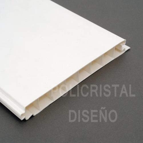 cielorraso pvc revestimiento machimbre placas 200x14.5 mm
