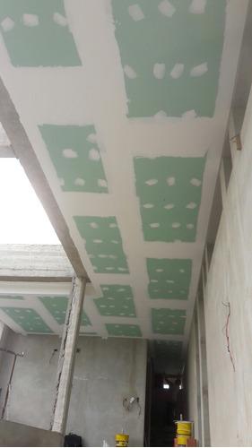 cielorrasos durlock colocación y materiales, tabiques, pilar