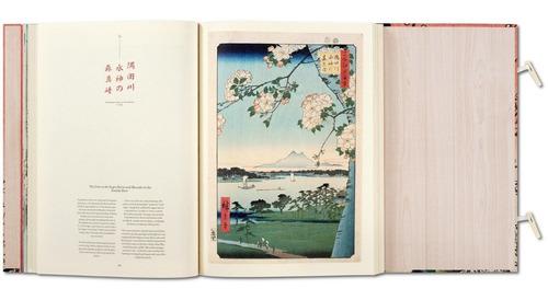 cien famosas vistas de edo. hiroshige. taschen