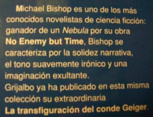 ciencia ficcion el eslabon perdido michael bishop grijalbo