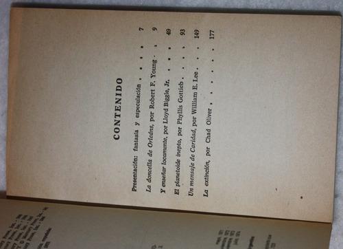 ciencia ficcion. tercera seleccion. antologia. libro