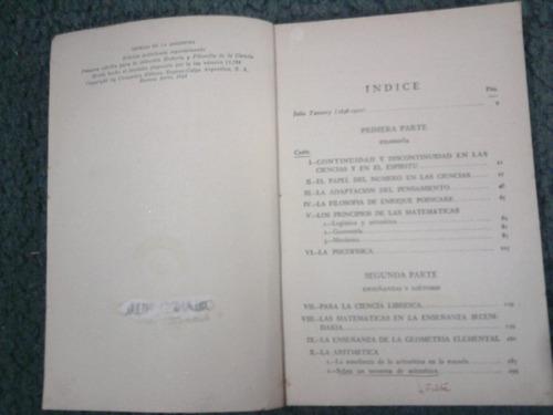 ciencia y filosofía - julio tannery - espasa calpe 1946