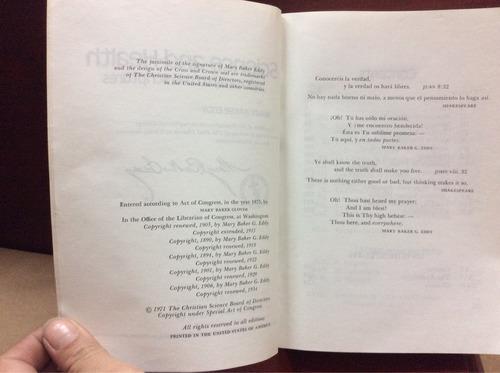 ciencia y salud con clave de las escrituras - mary baker