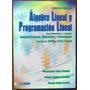 Álgebra Lineal Y Programación Lineal - Soler - Ecoe