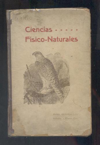 ciencias fisico-naturales -  g.f. mario