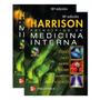 Libro Harrison Tratado De Medicina Interna 2 Vol + Dvd Nuevo