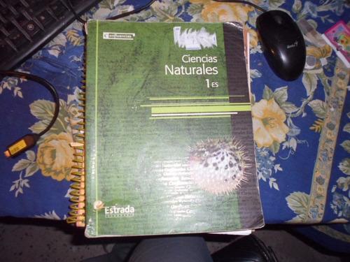 ciencias naturales 1es. confluencias estrada