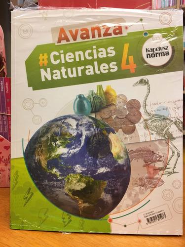 ciencias naturales 4 - avanza - kapelusz