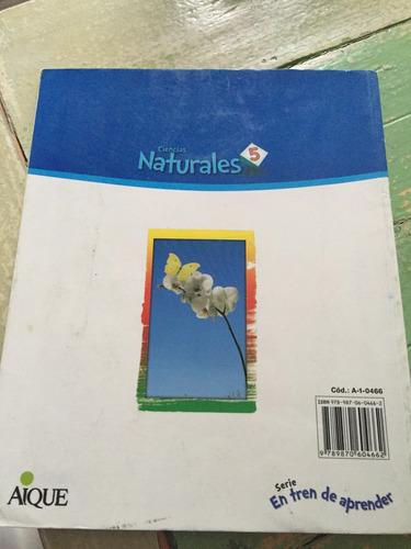 ciencias naturales 5 bonaerense seríe en tren de aprender