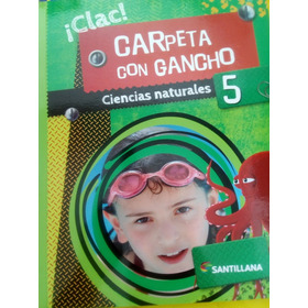 Ciencias Naturales 5 Carpeta Con Gancho - Clac - Santillana