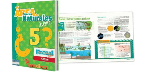 ciencias naturales 5 - nacion - area planteo - mandioca