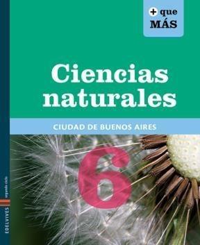 ciencias naturales 6 - caba - + que mas - edelvives