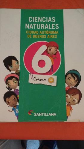 ciencias naturales 6 ciudad de bs. as. conocer+ santillana