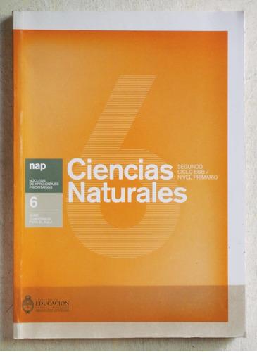 ciencias naturales 6 (ed ministerio de educación 2008)