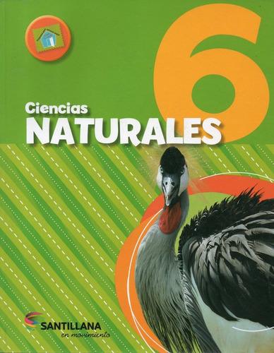 ciencias naturales 6 - en movimiento - santillana