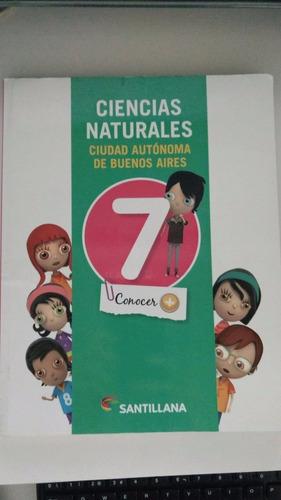 ciencias naturales 7 ciudad de bs.as editorial santillana