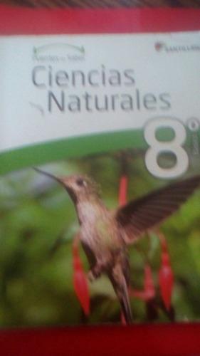 ciencias naturales 8 puentes del saber santillana