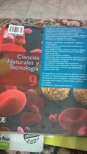 ciencias naturales y tecnologia 9 aique