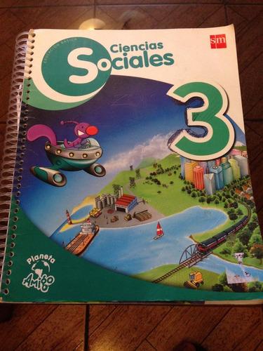 ciencias sociales 3°  basico editorial sm planeta amigo