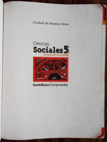 ciencias sociales 5 ( comprender la sociedad)