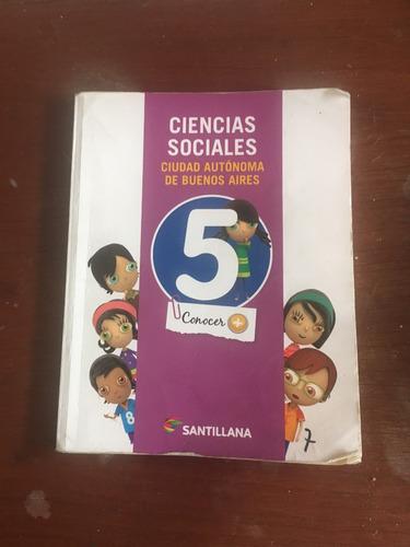 ciencias sociales 5 santillana caba
