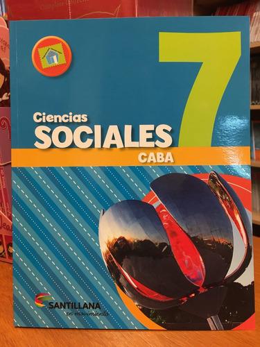 ciencias sociales 7 - caba - santillana en movimiento