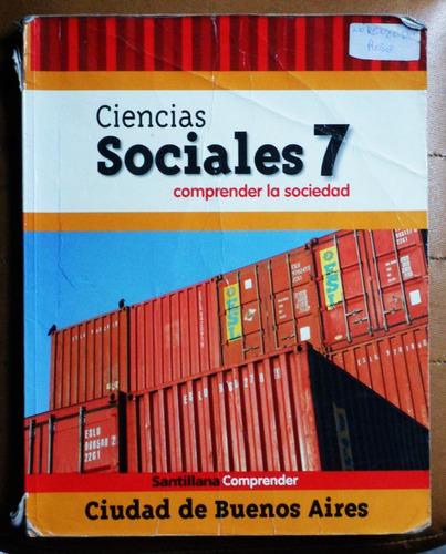 ciencias sociales 7 comprender / santillana