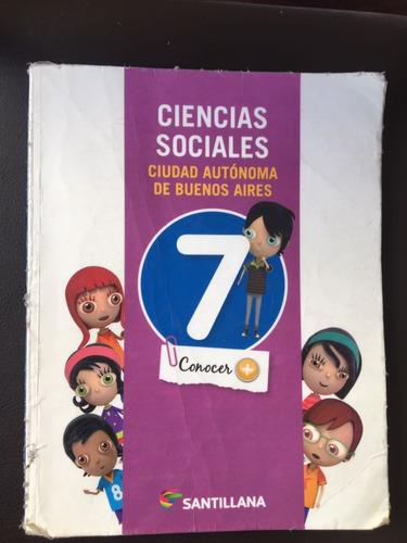 ciencias sociales 7 ed. santillana