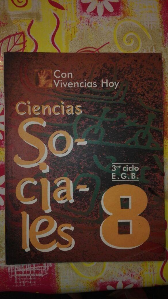 Ciencias sociales, 8 egb