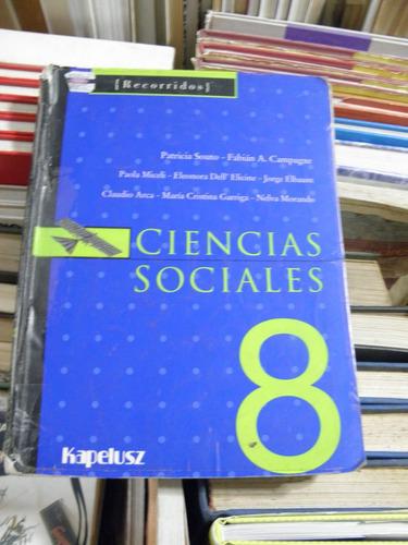 ciencias sociales 8 recorridos kapelusz