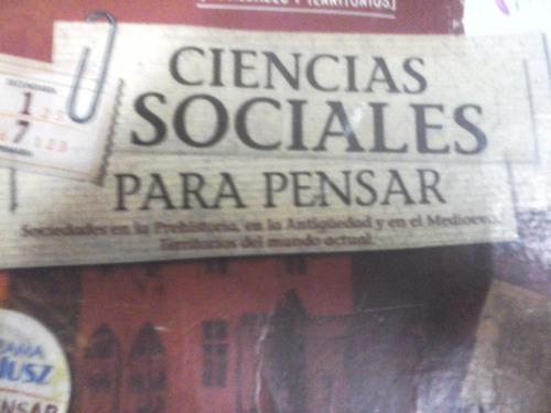 ciencias sociales para pensar