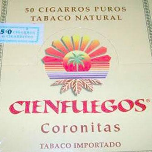 cienfuegos coronitas x10 puritos cigarro puro tabaco natural
