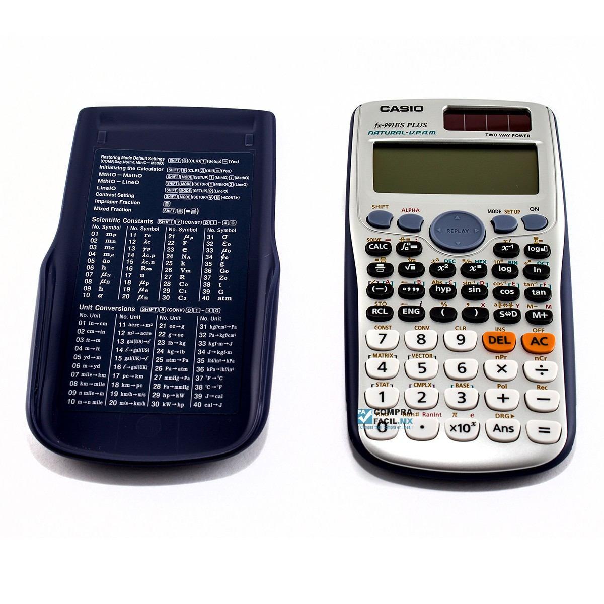 dd8ac417d5b Calculadora Científica Casio Fx-991es Plus Com 417 Funções - R  109 ...