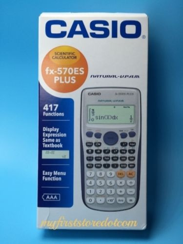científica casio calculadora