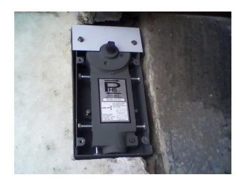 cierrapuerta hidraulico caja freno piso puerta 1mt phs s1b