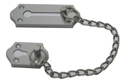 cierre cadena 4 pulgadas simples satinado puertas soprano