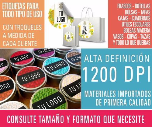 cierre de bolsas stickers calcomanias etiquetas vinilos troquelados especiales formas resistentes agua personalizadas