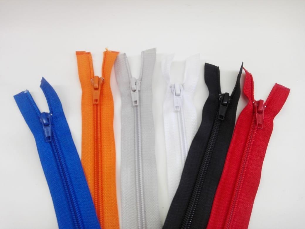 20 cremalleras 30 cm de plástico selector de color libres