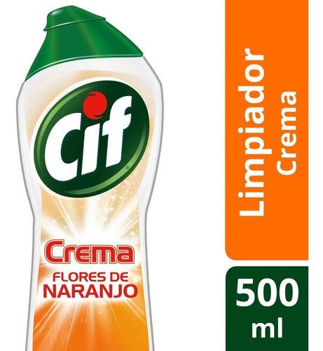cif x750 cremoso naranja x3