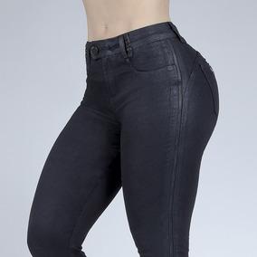 b5cd299ff Calça Resinada Feminina - Calças Feminino no Mercado Livre Brasil