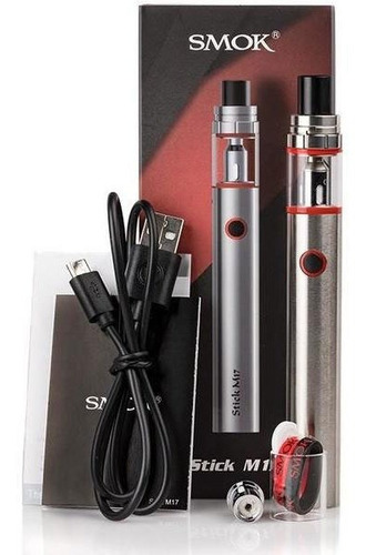 cigarrillo elecronico smok stick m17 kit completo original