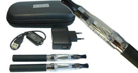 cigarrillo electrónico de lujo ego ce5 2x1 + liquido gratis