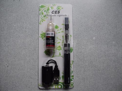 cigarrillo electrónico de lujo ego ce5 + liquido gratis
