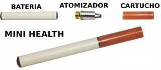 cigarrillo electronico e-cigarrete + 100 recargas, cargador.