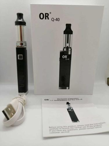 cigarrillo electrónico vapeador or q-40 + esencia gratis